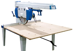 radial arm saws from aw machinery