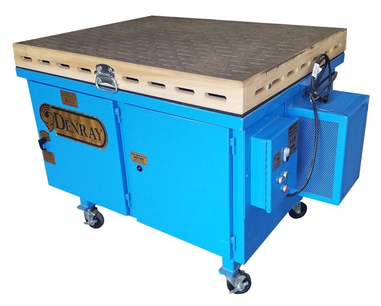444b tube filtration downdraft table