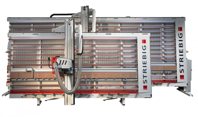 compact plus vertical panel saw by striebig