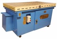 660 tube filtration downdraft table