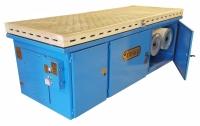 696b cartridge filtration downdraft table
