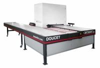 return conveyor for wide belt sander