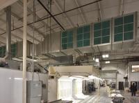 custom downdraft system from r&s sheet metal